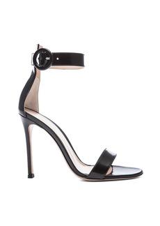 Gianvito Rossi Patent Portofino Heels