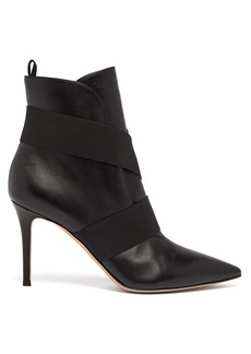 Gianvito Rossi Pilar 85 leather boots