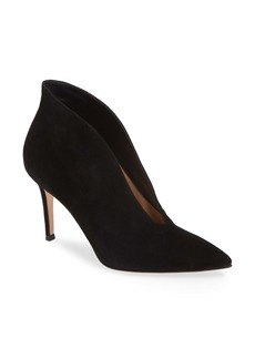 Gianvito Rossi Pointy Toe Bootie (Women)
