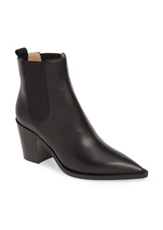 Gianvito Rossi Pointy Toe Chelsea Boot (Women)