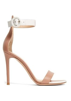 Gianvito Rossi Portofino 100 leather sandals