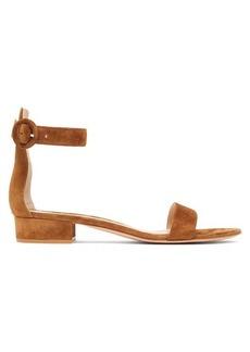 Gianvito Rossi Portofino 20 suede sandals