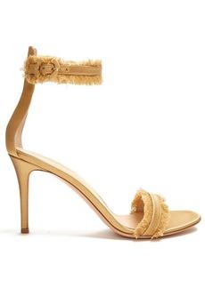 Gianvito Rossi Portofino fringe-trimmed sandals
