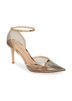 Gianvito Rossi PVC Ankle Strap Pump (Women)