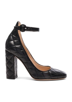 Gianvito Rossi Quilted Leather Heels