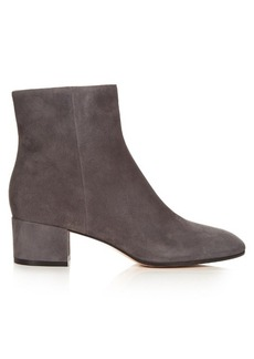 Gianvito Rossi Rolling block-heel suede ankle boots