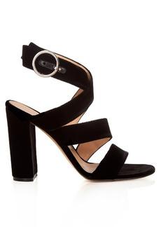 Gianvito Rossi Rylee velvet sandals