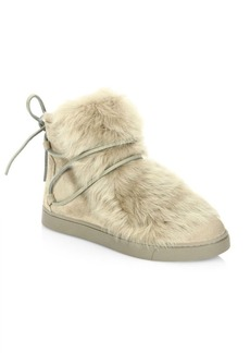 Gianvito Rossi Shearling Booties