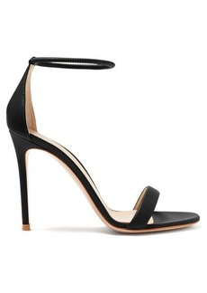 Gianvito Rossi Simple Strap 105 leather sandals