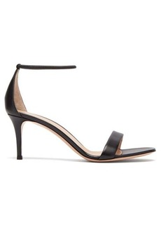 Gianvito Rossi Simple Strap 70 leather sandals