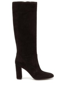 Gianvito Rossi Slouch 85 knee-high suede boots