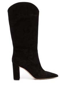 Gianvito Rossi Slouchy 85 knee-high suede boots