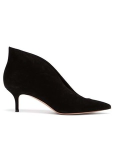 Gianvito Rossi Vania suede ankle boots