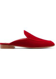 Gianvito Rossi Velvet slippers