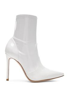 Gianvito Rossi Vinyl Imogen Ankle Boots
