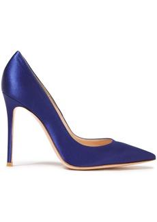 Gianvito Rossi Woman Gianvito 105 Satin Pumps Royal Blue