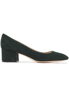 Gianvito Rossi Woman Linda 45 Suede Pumps Dark Green