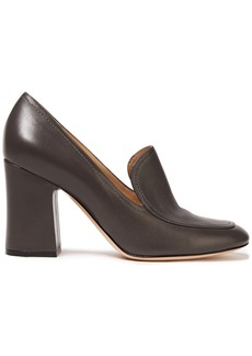 Gianvito Rossi Woman Marcel 85 Leather Pumps Chocolate