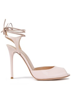 Gianvito Rossi Woman Muse 115 Patent-leather Sandals Pastel Pink