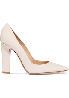 Gianvito Rossi Woman Piper 105 Patent-leather Pumps Pastel Pink