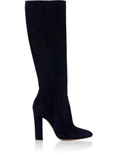 Gianvito Rossi Women's Arlay Suede Knee Boots