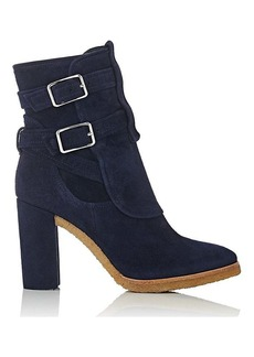 Gianvito Rossi Women's Buckle-Strap Ankle Boots