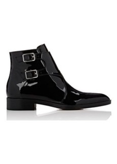Gianvito Rossi Women's Double-Buckle-Strap Ankle Boots
