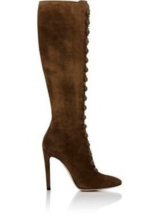 Gianvito Rossi Women's Imperia Suede Knee Boots