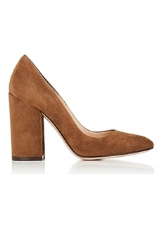 Gianvito Rossi Women's Linda Suede Pumps