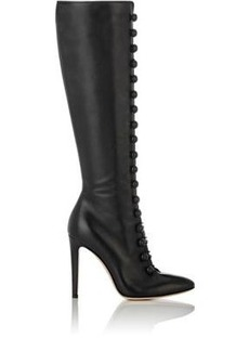 Gianvito Rossi Women's Military-Inspired Knee Boots