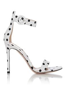 Gianvito Rossi Women's Portofino Leather Ankle-Strap Sandals