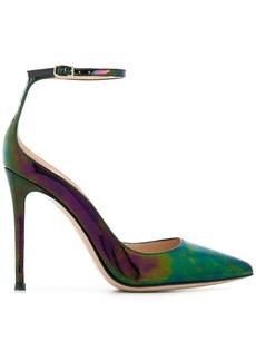 Gianvito Rossi iridescent stiletto pumps
