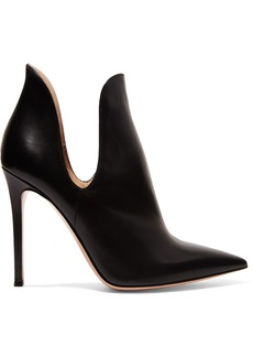 Gianvito Rossi Nagoya 100 Leather Ankle Boots