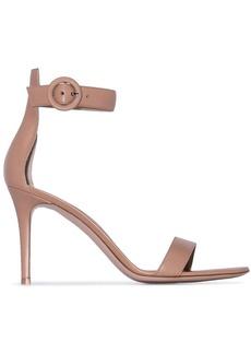 Gianvito Rossi Tan 85mm sandals