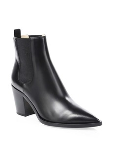 Gianvito Rossi Western Leather Booties