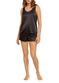 GINIA Washable Silk Shorts