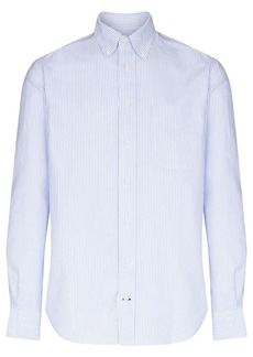 Gitman Brothers button-down striped cotton shirt