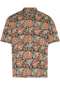 Gitman Brothers floral print short-sleeve shirt