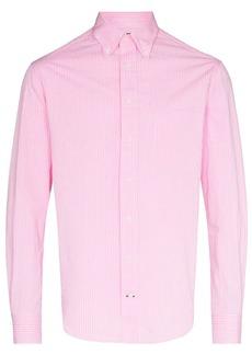 Gitman Brothers pinstriped button-down shirt