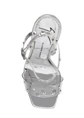 Giuseppe Zanotti 105mm Swarovski Plexi Sandals