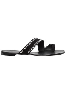 Giuseppe Zanotti 10mm Swarovski Suede Sandals