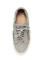 Giuseppe Zanotti 20mm Glittered Zip Up Sneakers