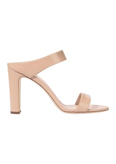 Alien Double Strap Nude High Sandals