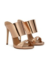 Giuseppe Zanotti Andrea metallic leather sandals