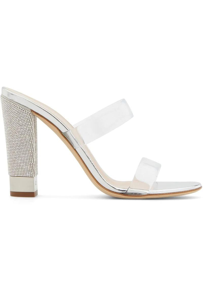 Giuseppe Zanotti Aurelia embellished-heel sandals