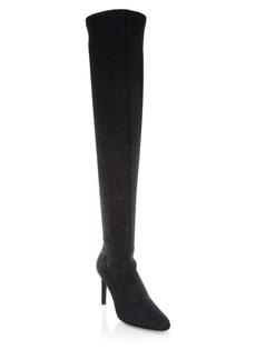 Giuseppe Zanotti Bimba 90 Glitter Over-The-Knee Boots