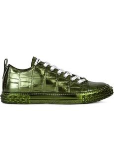 Giuseppe Zanotti Blabber metallic sneakers