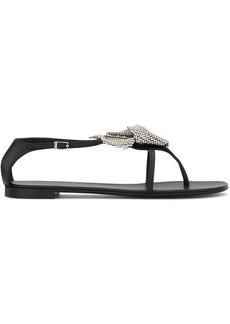 Giuseppe Zanotti Calla flower sandals