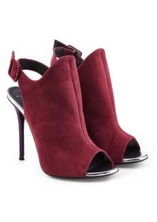 Giuseppe Zanotti Camoscio Suede Stiletto Sandals