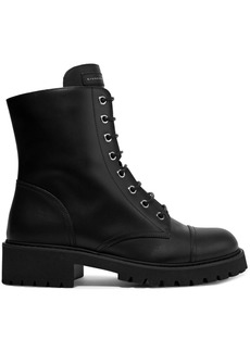 Giuseppe Zanotti Chris Leather Ankle Boots